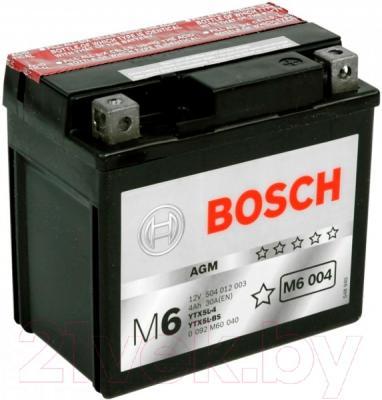 Мотоаккумулятор Bosch M6 YTX5L-4/YTX5L-BS 004 504012003 (4 А/ч)