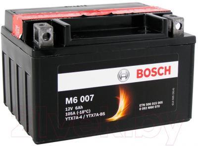 Мотоаккумулятор Bosch M6 YTX7A-4/YTX7A-BS 506015005 (6 А/ч)