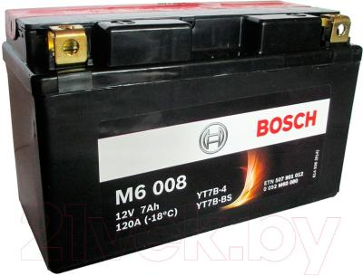 Мотоаккумулятор Bosch M6 YT7B-4/YT7B-BS 507901012 (7 А/ч)
