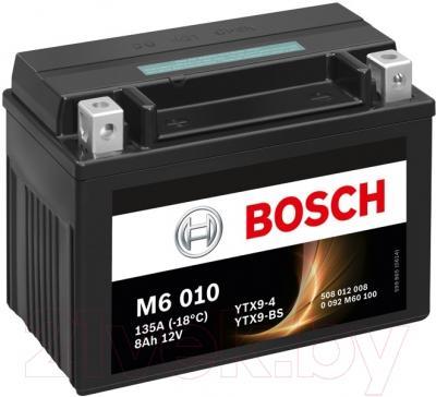Мотоаккумулятор Bosch M6 YTX9-4/YTX9-BS 508012008 (8 А/ч)
