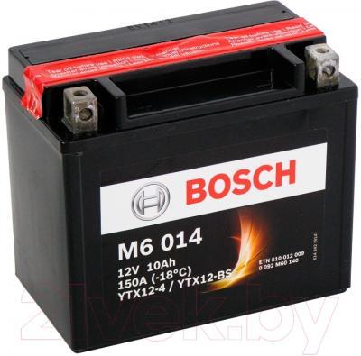 Мотоаккумулятор Bosch M6 YTX12-4/YTX12-BS 510012009 (10 А/ч)