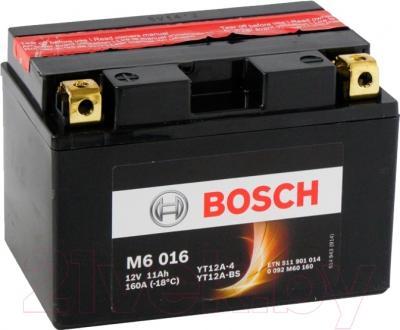 Мотоаккумулятор Bosch M6 YT12A-4/YT12A-BS 511901014 (11 А/ч)
