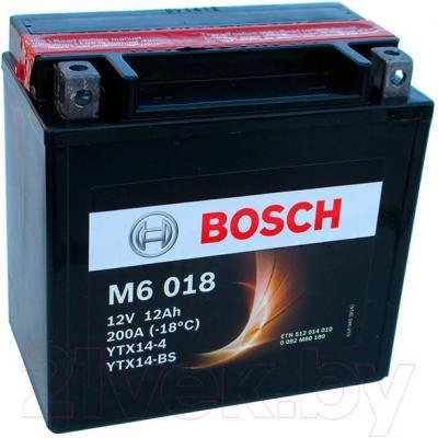 Мотоаккумулятор Bosch M6 YTX14-4/YTX14-BS 512014010 (12 А/ч)