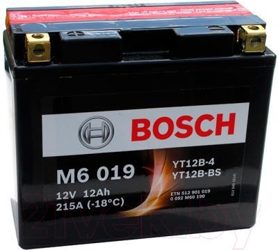 Мотоаккумулятор Bosch M6 YT12B-4/YT12B-BS 512901019 (12 А/ч)