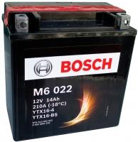 Мотоаккумулятор Bosch M6 YTX16-4/YTX16-BS 514902022 (14 А/ч) -