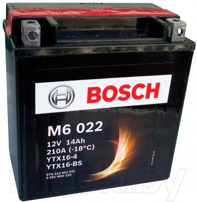Мотоаккумулятор Bosch M6 YTX16-4/YTX16-BS 514902022 (14 А/ч)