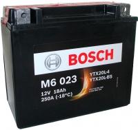 Мотоаккумулятор Bosch M6 YTX20L-4/YTX20L-BS 518901026 (18 А/ч) -