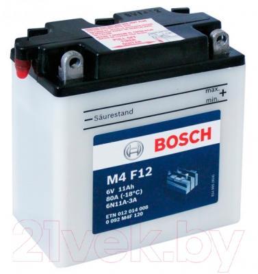 Мотоаккумулятор Bosch 6N11A-3A 12014008 (12 А/ч)