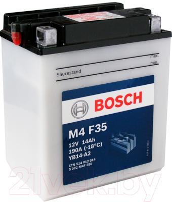 Мотоаккумулятор Bosch M4 YB14-A2 514012014 (14 А/ч)