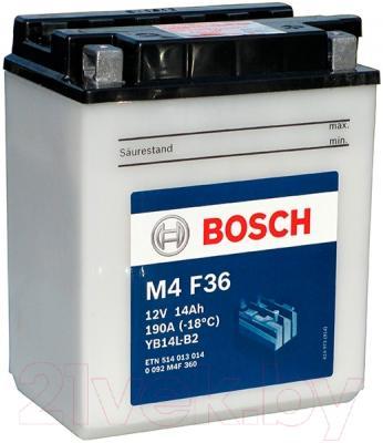 Мотоаккумулятор Bosch M4 YB14L-B2 514013014 (14 А/ч)