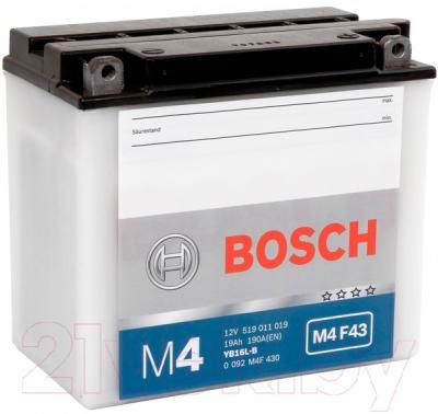 Мотоаккумулятор Bosch M4 YB16L-B 519011019 (19 А/ч)