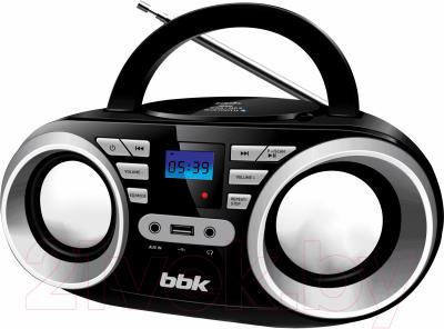 Магнитола BBK BX160BT (черный металлик)