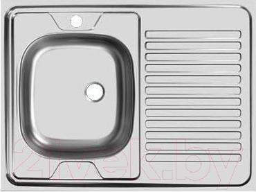 Мойка кухонная Ukinox STM 800.600 T 5K (левая)