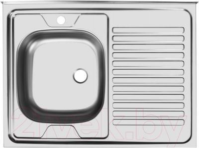 Мойка кухонная Ukinox STD800.600 4C 0L