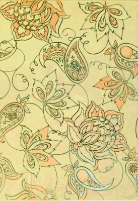 Декоративная плитка Керамин Панно Аксель 3с цветок (275x400)