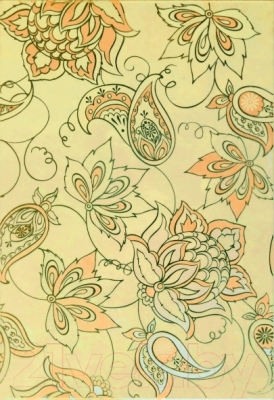 Декоративная плитка Керамин Панно Аксель 3с узор (275x400)