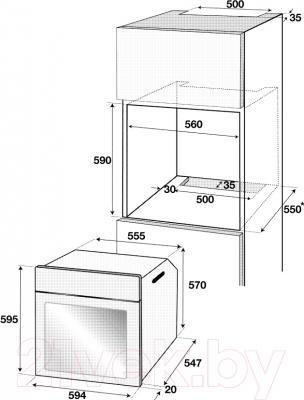 Электрический духовой шкаф Beko BIRT24301BRMS