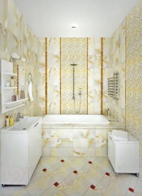 Декоративная плитка для ванной Керамин Панно Дежавю 2 круги (200x500)
