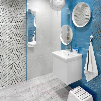 Плитка для пола ванной Керамин Иллюзия 3п (400x400)