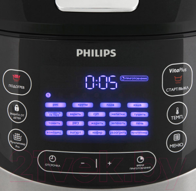 Мультиварка Philips HD4737/03 - панель