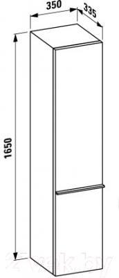 Шкаф-пенал для ванной Laufen Palace (4020210754641)