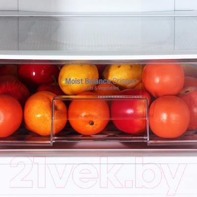 Холодильник с морозильником LG GA-B489ZVCA