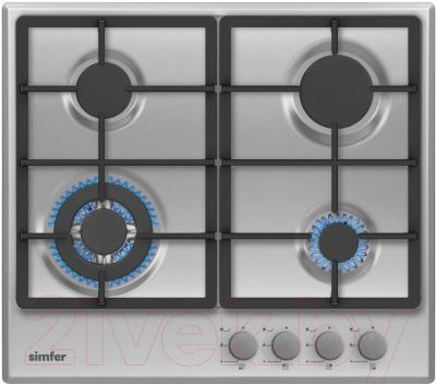 Газовая варочная панель Simfer H60V41M511