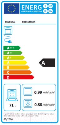 Электрический духовой шкаф Electrolux EOB55450AX