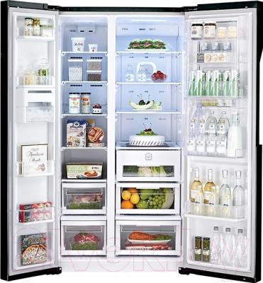 Холодильник с морозильником LG GC-M237JGBM