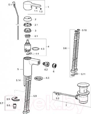Смеситель Hansa Form 49063203