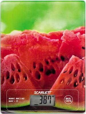 Кухонные весы Scarlett SC-KS57P12 (арбуз)
