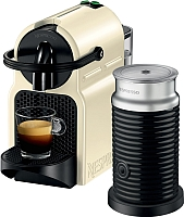 Капсульная кофеварка DeLonghi Inissia Vanilla Cream Aeroccino EN80.CWAE -