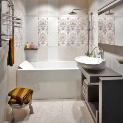 Бордюр для ванной Керамин Органза 4ОБ (275x20)
