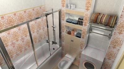 Бордюр для ванной Керамин Органза 5ШБ (275x62)