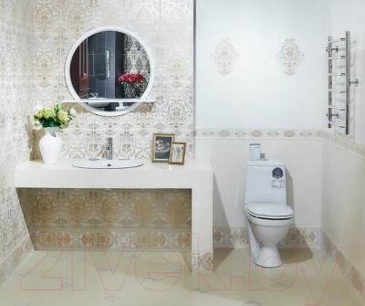 Бордюр для ванной Керамин Органза 5ШБ (400x132)