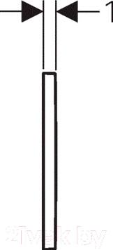 Кнопка для инсталляции Geberit Omega 30 (115.080.KJ.1) - схема