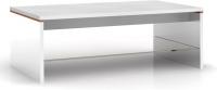 Журнальный столик Black Red White Azteca S205-LAW/4/11 (белый/белый блеск) -