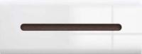 Шкаф навесной Black Red White Azteca S205-SFW1K/4/11 (белый/белый блеск) -