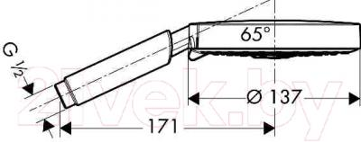 Душевой гарнитур Hansgrohe Raindance S 150 AIR 28519800