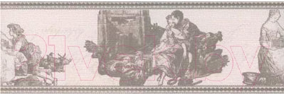 Бордюр Керамин Пастораль 3 (400x132)