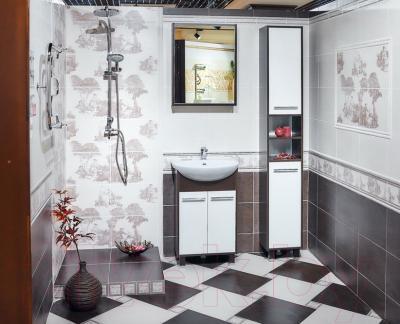 Декоративная плитка для ванной Керамин Пастораль 3/2 (400x275)