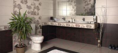Бордюр для ванной Керамин Пастораль 3 (400x98)
