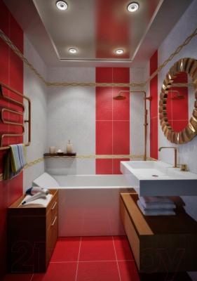 Бордюр для ванной Керамин Плаза 7 (600x55)