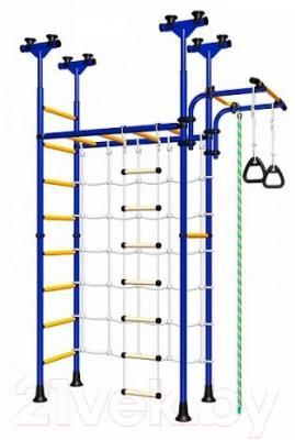 Детский спортивный комплекс Romana 77 ДСКМ-4-8.06.Г1.490.05-59 (синий/желтый)