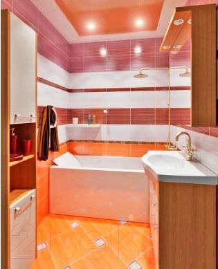 Бордюр для ванной Керамин Студио 1 (275x47)