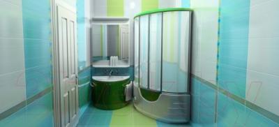 Плитка для пола ванной Керамин Студио 2п (400x400)