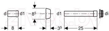 Соединительный элемент Geberit 118.026.11.1 - схема