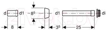 Соединительный элемент Geberit 118.026.21.1 - схема