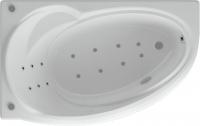Ванна акриловая Aquatek Бетта 150x95 L (с гидромассажем и экраном) -