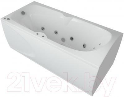 Ванна акриловая Aquatek Европа 180x80 L (с гидромассажем и экраном)